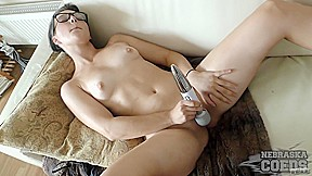 Female Masturbation With Vibrator